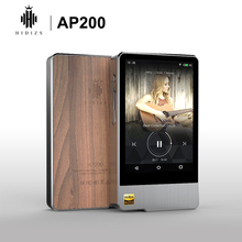 Hidizs ap200 안드로이드 블루투스 5.1 hifi 음악 플레이어 64g 내장 메모리 3.54 ips 더블 es9118c dac dsd pcm flac mp3