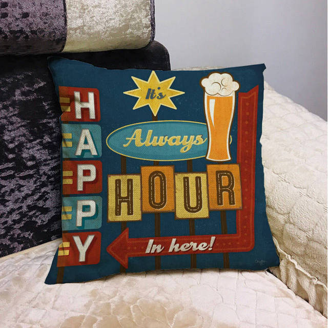 Beer Mancave Cushion Covers 6