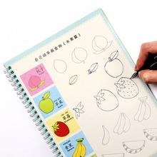 Детские раскраски, рисование для детей, начинающих ПАЗ животные/растительные мультфильм ПАЗ практике прописи экземпляров Libros возраст 3-9