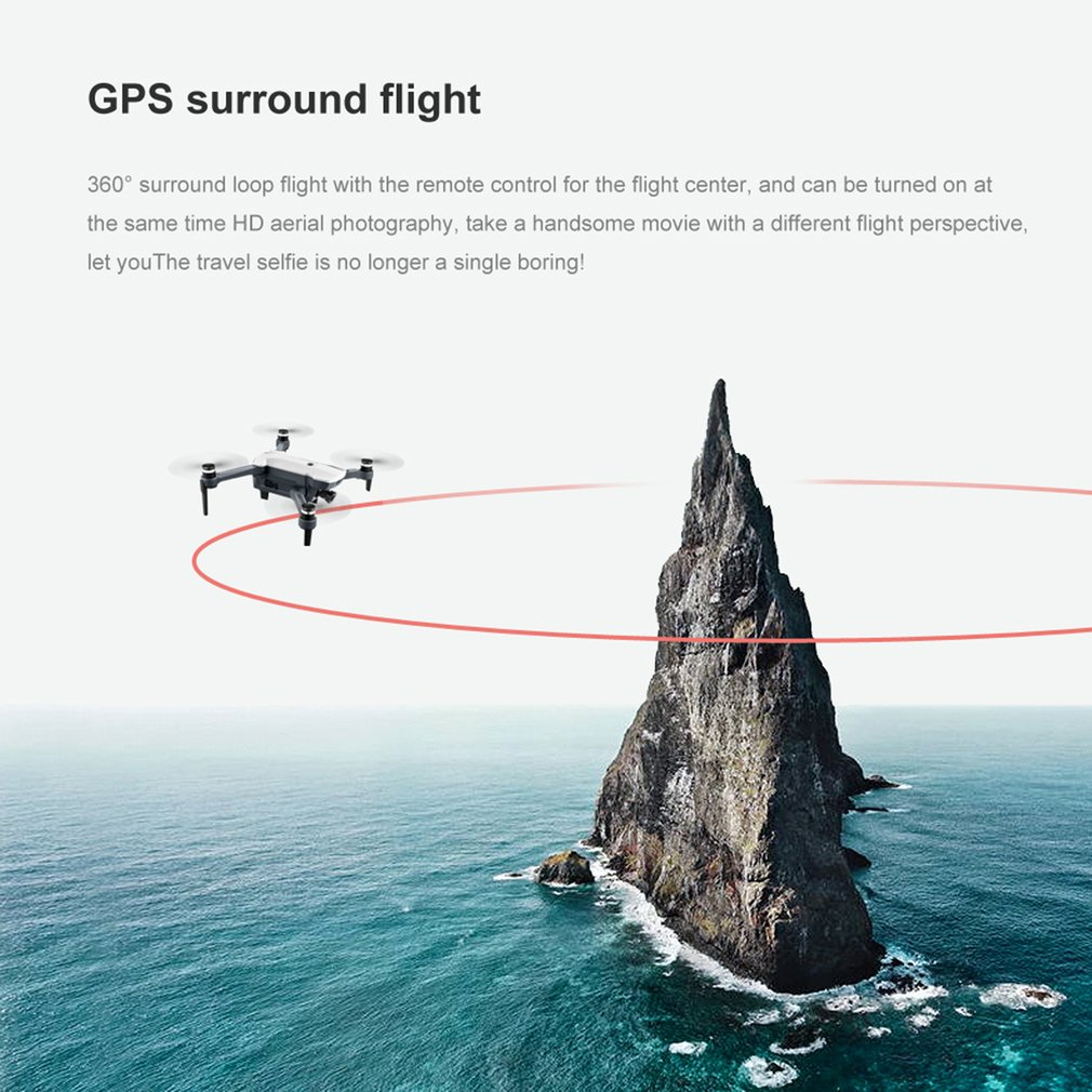lowest price HD 4K Selfie APP Control Face Recognition RC Quadcopter Dual Cameras Headless Mode Wide Angle WIFI Outdoor Foldable Drone