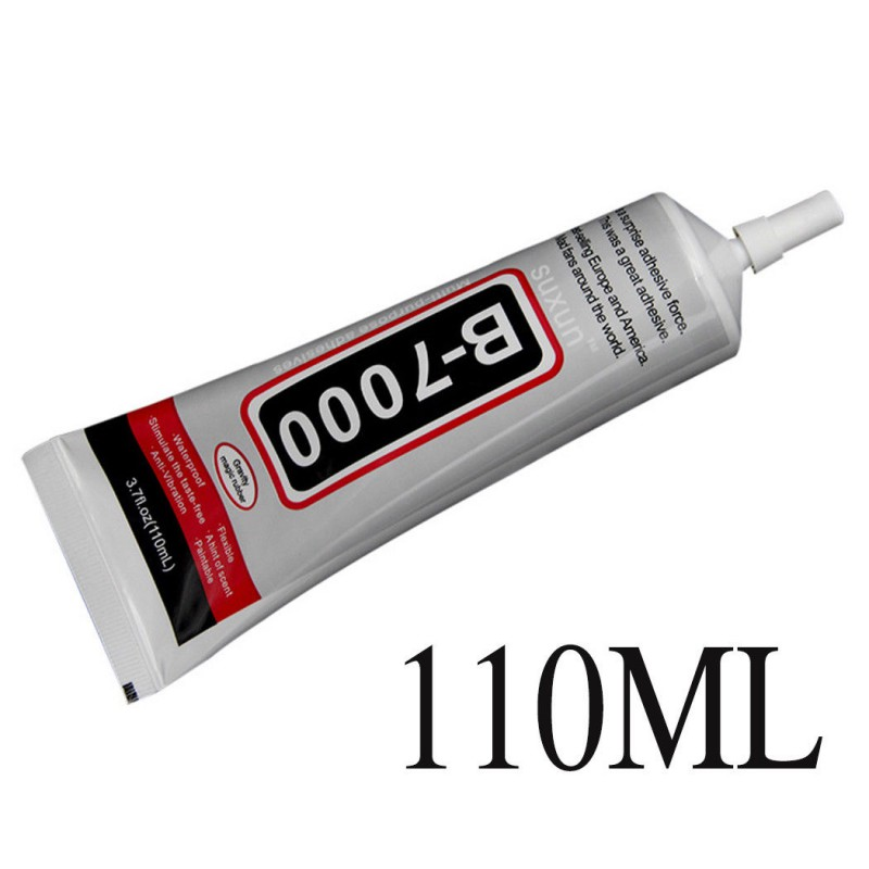 110ml B7000 Glue Mobile Phone Touch Screen Superglue B-7000 Adhesive Telephone Glass Glue Repair Point Diamond Jewelry DIY Gl