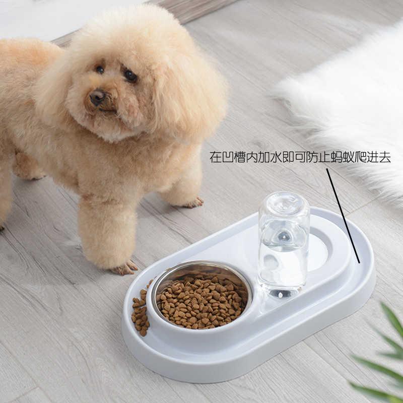 Su çeşmesi kediler dağıtıcı köpek otomatik plastik kase besleyici Comedero Automatico Bebedouro Para Gato ücretsiz kargo GG50ws