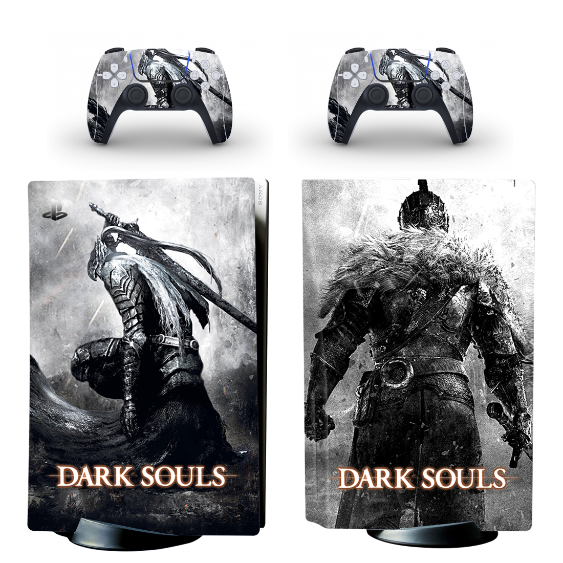 Dark Souls PS5 Standard Disc Edition Skin Sticker Decal Cover for PlayStation 5 Console & Controllers PS5 Skin Sticker Vinyl 1