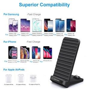 Image 2 - Veloce Qi Caricatore Senza Fili Per iPhone XS XR X 8 Samsung S10 S9 CONTROLLO di QUALITÀ 3.0 Tipo c PD Rapido carica Multi Telefono Usb di Ricarica della Stazione Del Bacino
