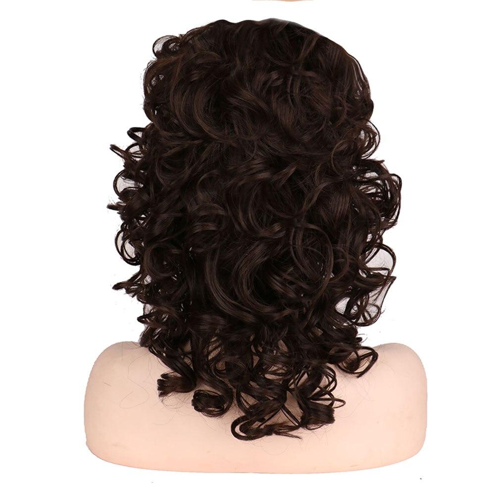 Whimsical w nova peruca de cabelo sintético