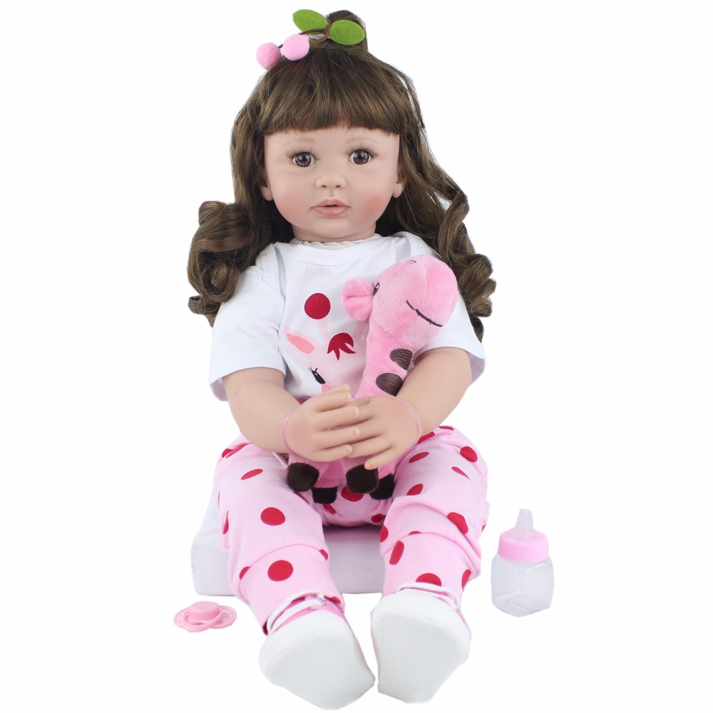 60cm Silicone Reborn Babies Doll Toys