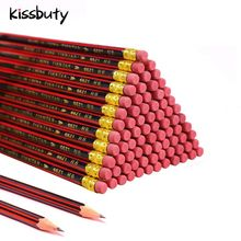 Lead-Pencils Stationery Eraser Wooden School Children Writing HB with 20/30/50-/..