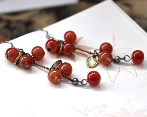 Aretes New Korean Version 2019 Hot Fresh Fashion Wild Beauty Temperament Cute Sweet Cherry Earrings Ladies.jpg 640x640 - Aretes New Korean Version 2019 Hot Fresh Fashion Wild Beauty Temperament Cute Sweet Cherry Earrings Ladies Factory Wholesale