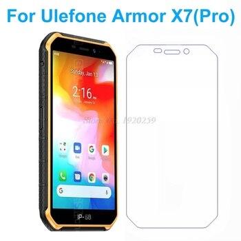 Перейти на Алиэкспресс и купить Закаленное стекло для Ulefone Armor X7, Защитная пленка для экрана, чехол для Ulefone Armor X7 Pro, Защитное стекло для экрана