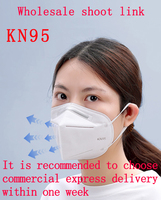 KN95 Face Mask Disposable Dustproof Breathable Anti-fog Haze Anti-droplet PM2.5 Men and Women Protection Respirator N95