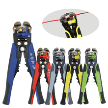 0.2-0.6mm peeling shear wire strippers stripper tool mini pliers cable cutters tools crimping plier stripping multitool function