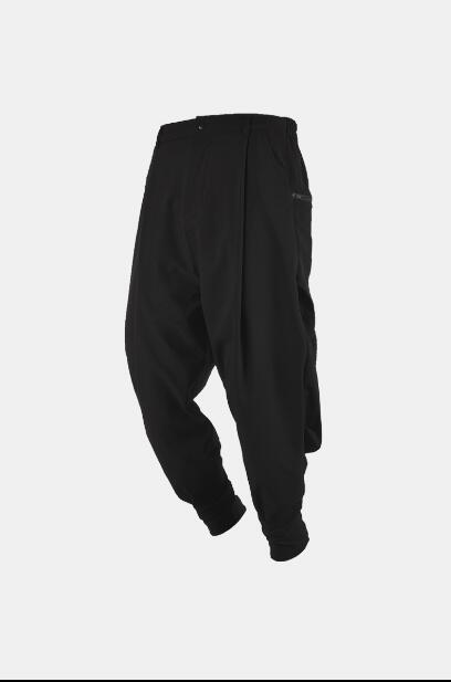 2020 new tide brand men's loose trousers Japanese simple men's fashion casual harem pants singer costumes men clothing