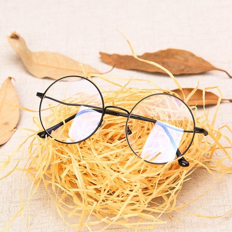 Новинка 2020, Модные Винтажные круглые очки с защитой от синего света для мужчин и женщин, очки в металлической оправе для компьютера, очки для глаз