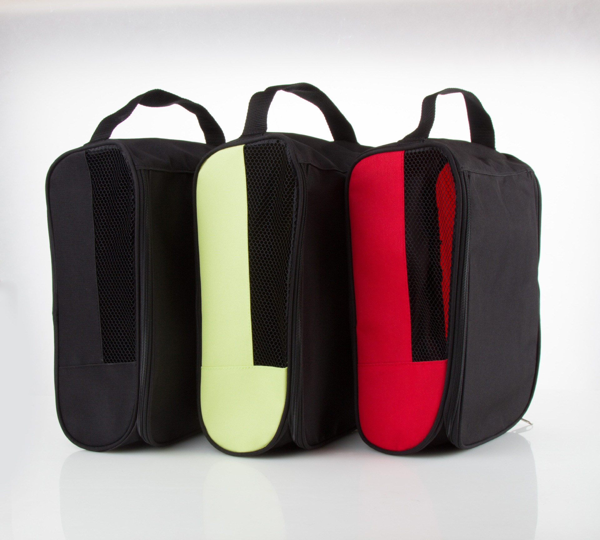 Golf Shoes Bag Zipped Sports Bag Shoe Case Golf Shoe Bag - Zippered Shoe Carrier Bags
