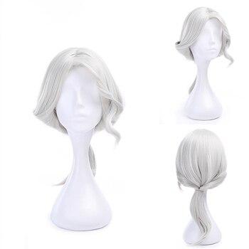 цена на Game Identity V Photographer Joseph Cosplay Wigs Heat Resistant Synthetic Hair Joseph Desaulniers Peruca Anime Costume Wig