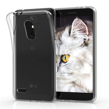 Case-Covers LGK8 LGK10 Phone-Back-Shell Thin Transparent Silicone Full-Protective
