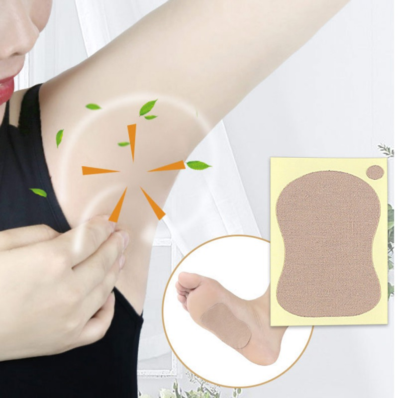 Deodorants Stickers Prevent Sweating Remove Odor Underarm Sweating Patches Pads 2019