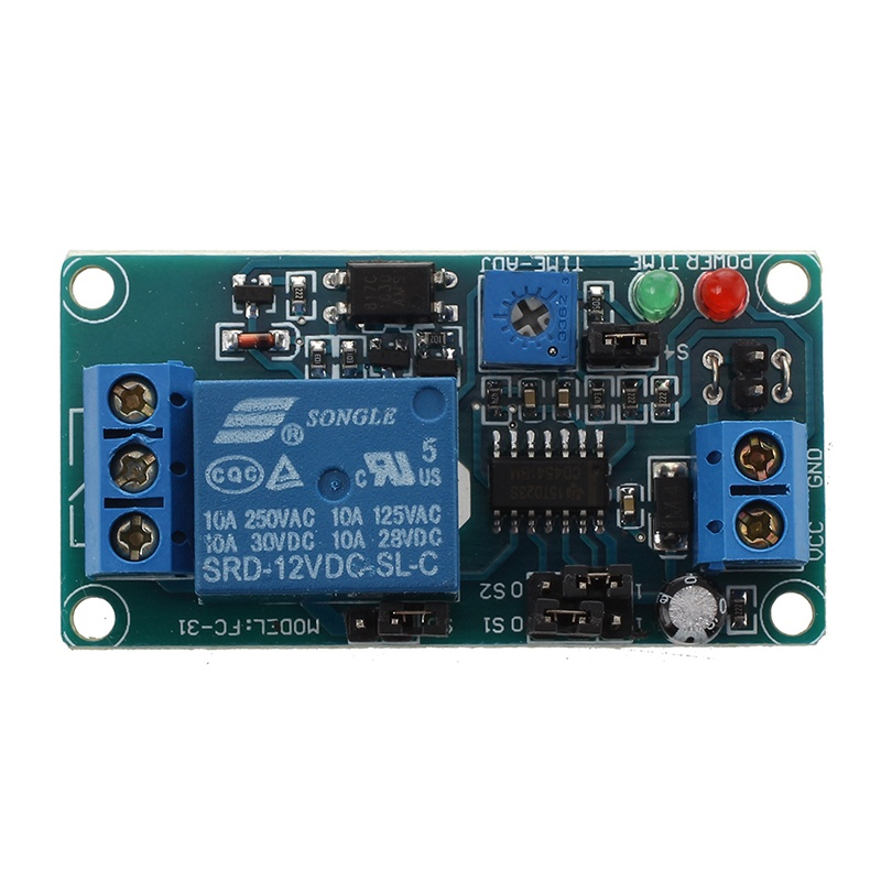 SRD-12VDC-SL-C NC timer with 12V DC timing control