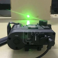 цена на Airsoft Tactical DBAL-D2 GREEN LASER Version Tactical Flashlight DBAL D2 Weapon Light Hunting Accessories WEX454