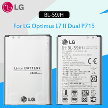 LG Original Replacement lg phone Battery BL-59JH 2460mAh For LG Optimus L7 II Dual P715 F5 F3 VS870 Ludid2 P703 BL59JH BL 59JH все цены