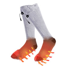Warmer Rechargeable Socks Battery-Sock Outdoor Sport Without USB Skiing for Winter Power-Bank
