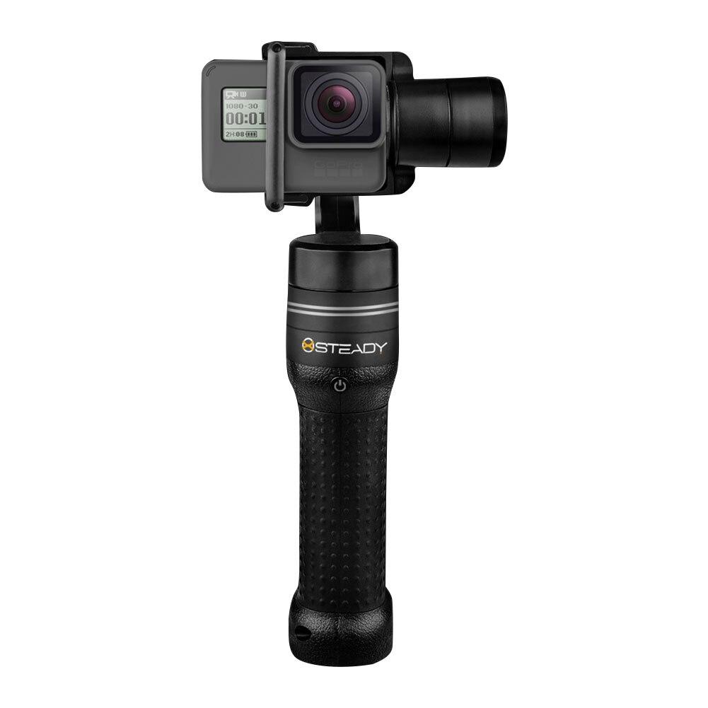 3 achsen Vlogger Halter Handheld Gimbal Stabilisator Action Kamera Anti Shake Stoßfest Wiederaufladbare Zubehör Outdoor Für GoPro