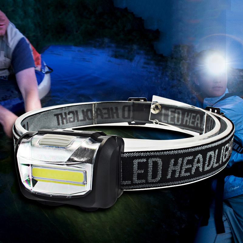 LED Waterproof Durable Portable Headlamp Water Resistant Flashlight Head Lamp Light Torch For Outdoor Camping Hiking