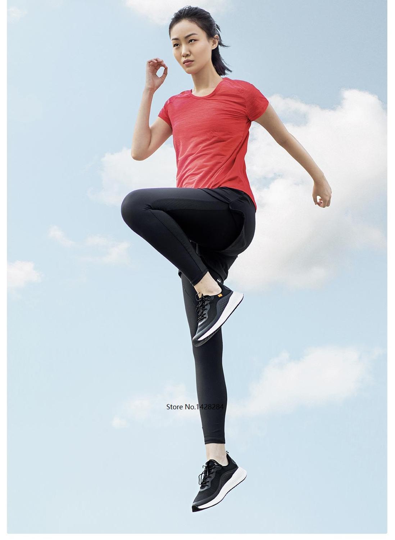 Xiaomi 90 мужские кроссовки для бега дышащий для занятий спортом на улице кроссовки спортивные амортизирующие мужские противоударные подошвы ... - 4