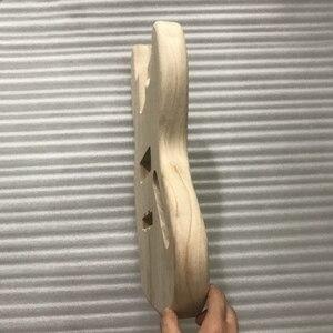 Image 2 - 未完エレキギター本体木材空白ギターバレルjbスタイルエレキギターdiyパーツ