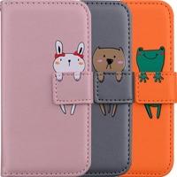 Custodia in pelle di vibrazione per animali domestici di moda per iPhone 13 12 Mini 11 Pro XR X XS Max Slot per schede Cover per supporto 6 6S 7 8 Plus 5 5s SE 2020 D22G