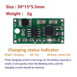Image 3 - DC 5 23V 4.2V/8.4V/12.6V Lithim ion Battery Charger Multi Cell Synchronous Voltage Reduction For 3.7V/7.4V/11.1V 18650 Lithium