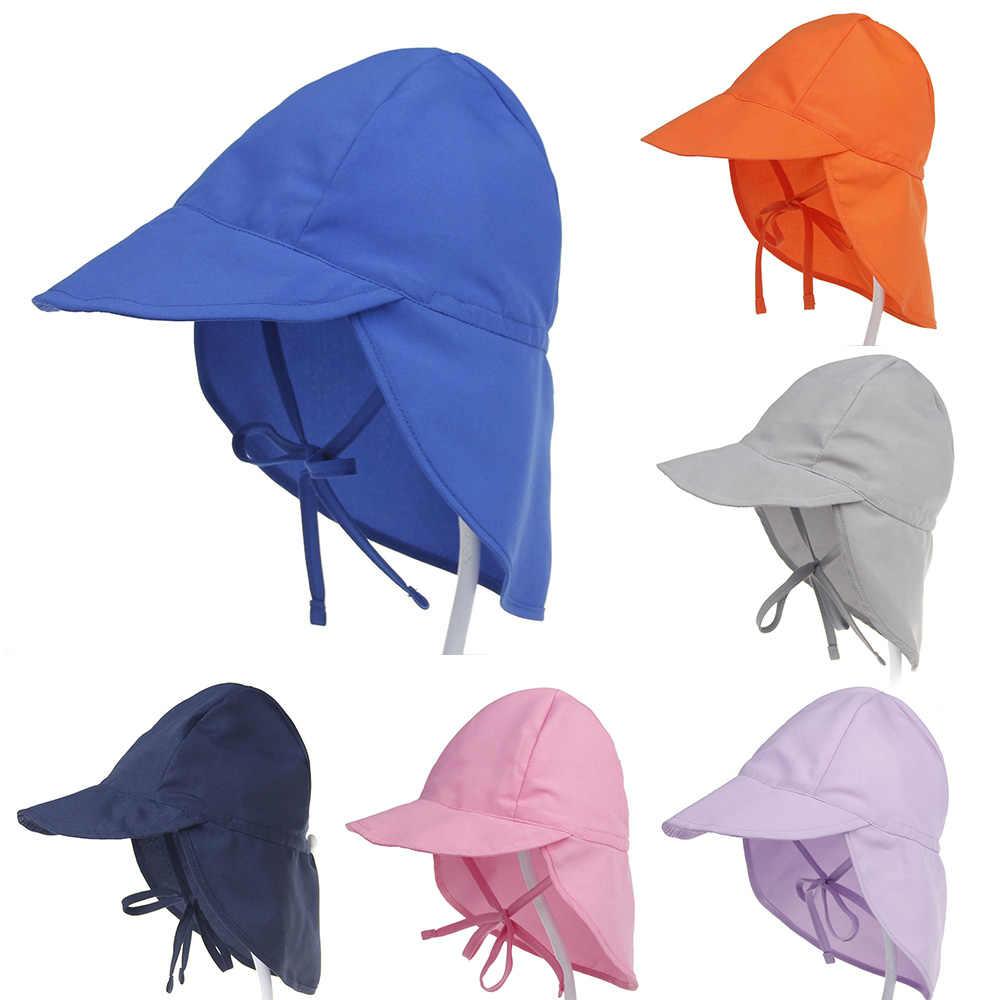 เด็กหมวกฤดูร้อนเด็กหมวกเด็กหญิง UV protection Travel Beach หมวกเด็กหมวกเด็กอุปกรณ์เสริมเด็กหมวก