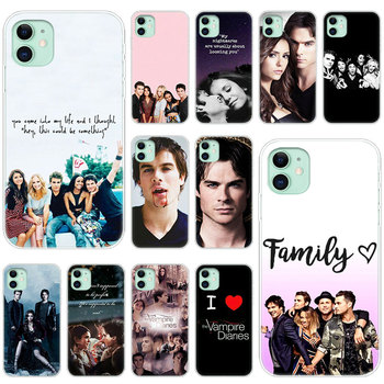 The Vampire Diaries Soft Silicone Transparent Case for iPhone 11 Pro XS Max X XR 6 6s 7 8 Plus 5 5s