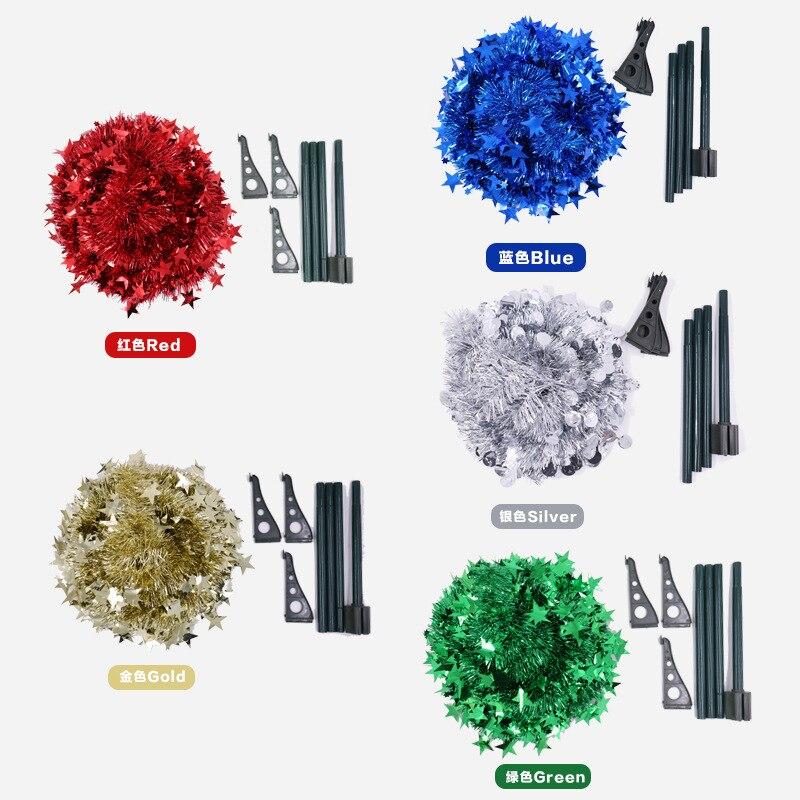 Creative Christmas Supplies Wool Tops Christmas Tree Retractable Foldable Christmas Decorative Tree Shi Pin Shu