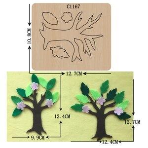 Image 1 - Новое дерево деревянные штампы скрапбукинга C 1167 резки различных размеров