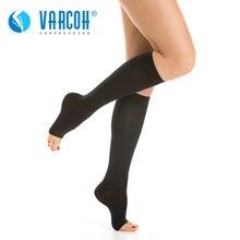 30 40 mmHg chaussettes de Compression femmes et hommes meilleurs bas de soutien pour la course médicale sport athlétique vol voyage grossesse