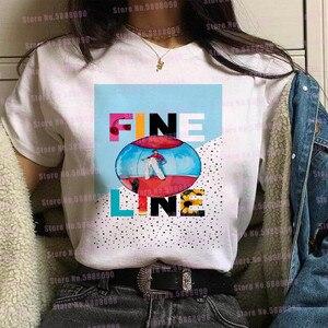 Женская футболка с принтом «Гарри Стайл» и надписью «Love On Tour 2020», красивая футболка с рисунком «руки», Корейская одежда