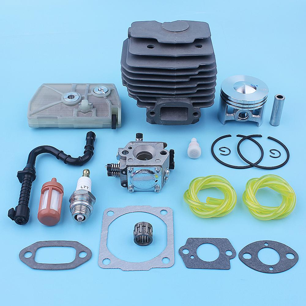 1203 Cylinder 020 Replacement Up 1118 For Tune Piston Stihl Air 028 Carburetor Super Chainsaw Kit Filter 028AV Parts 46mm