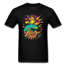 Eletric Feel Pikachu Hawaii Beach Surfer Tshirt Wave Pokemon Funny Cartoon Mimikyu Jigglypuff T Shirt Boy Anime Comic