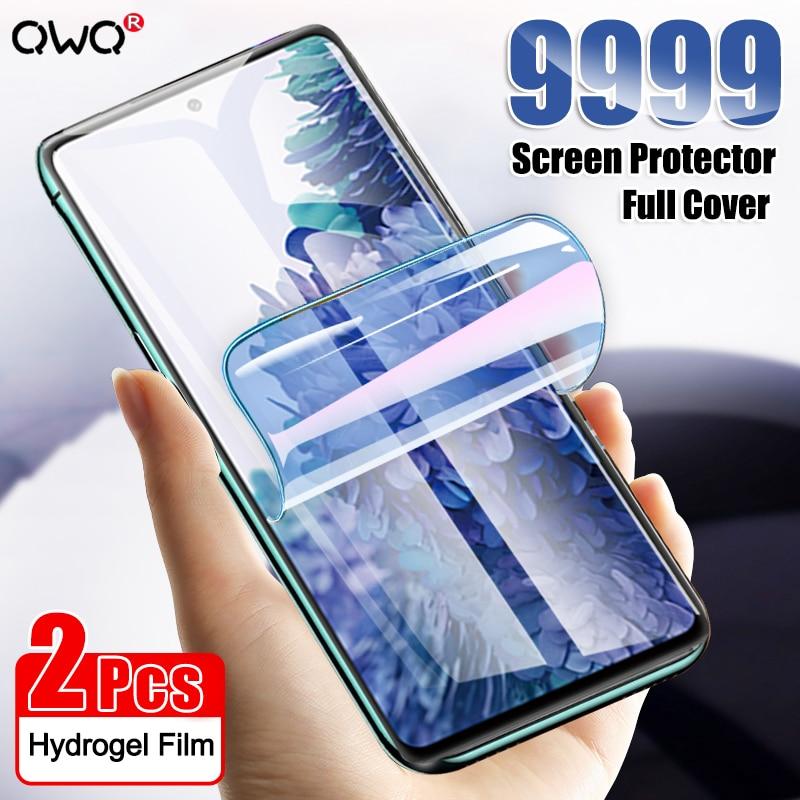 9999D Idrogel Pellicola Per Samsung Galaxy S10 S9 S8 Più S20 Ultra S7 Completa Protezione Dello Schermo Della Copertura Nota 10 Pro 20 Ultra Non di Vetro