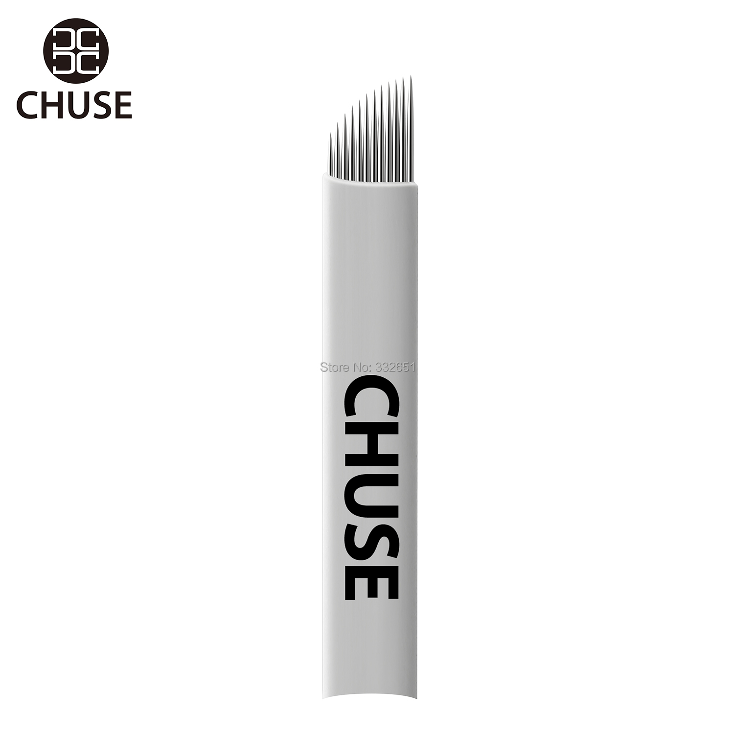 Chuse Permanent Makeup Tattoo Blades S12  For Microbladeing Eyebrow Manual Pens Individual Packed    INK INKS Blades