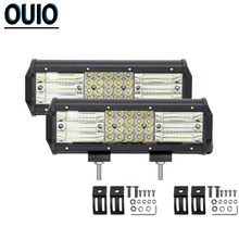 4 Rows LED Light Bar 222W 9