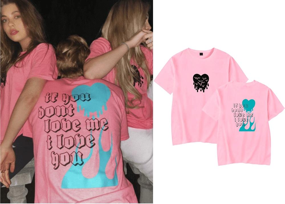 Couples T Shirt AVANI 'IF YOU DON'T LOVE ME' T-Shirt Gregg&Chase Hudson T Shirt Women Love Heart Short Sleeve T Shirt Unisex