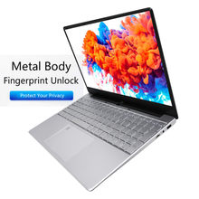 I5-5257U 16G Metal huella digital desbloqueado Notebook portátil Oficina PC ordenador 15,6 pulgadas SSD Gaming Laptop estudiantes Netbook