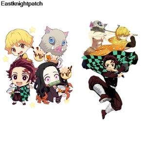 Мультфильм Dragon Ball, нашивка, железо, для одежды, тепло, милые наклейки, детская одежда в полоску, E0960
