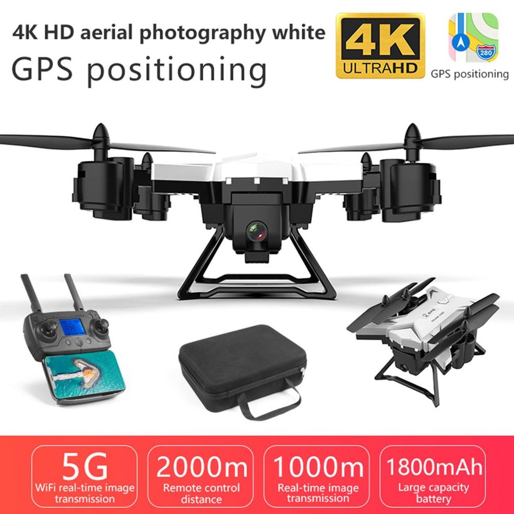KY601g 5G WiFi <font><b>Drone</b></font> Remote Control <font><b>FPV</b></font> 4-Axis <font><b>GPS</b></font> Aerial Toy Foldable Aircraft Geature Photo Video RC Airplane image