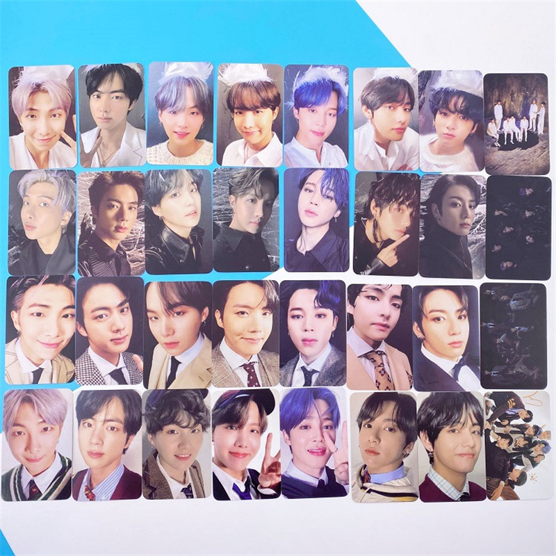 Hot KPOP Bangtan Boys Album MAP OF THE SOUL 7 Collection Photo Card Photocard Cards LU6970