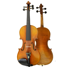 Master violin,4/4 European wood Strong and deep tone! free shipping! Despiau bridge! violin case j b vanhal theme and 6 variations for flute and violin
