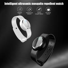 Dropship Anti Mosquito Capsule Pest Insect Bugs Repellent Bracelet Ultrasound Wristband For Kids Adult