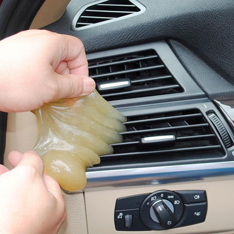 Keyboard Cleaner Dust Clean Glue Magic Gel Sticky Cleaning Tool For Car Air Vent Dashboard C44